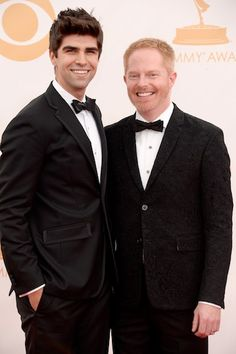 Best Dressed: Justin Mikita and Jesse Tyler Ferguson #Emmys