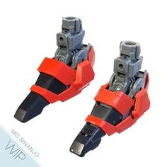 BEFORE : : AFTER  And here's the top view of the foot... See ya! J  #bandai #sinanju #gundam #gunpla Gundam Tutorial, Sci Fi Models, Gundam Custom Build, Gunpla Custom, Gundam Toys, Mechanical Design, Frame Arms, Gundam Model, Mobile Suit