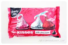 February 2014 Influenster J'adore VoxBox: Hershey's Kisses Milk Chocolate. Hershey's Kisses are a classic milk chocolate candy and absolutely perfect for Valentine's Day. I love this special seasonal bag which features metallic pink, red, and silver wrappers. Price: USD $5.29 -- #beauty #lifestyle #makeup #cosmetics #accessories #influenster #jadorevoxbox #voxbox