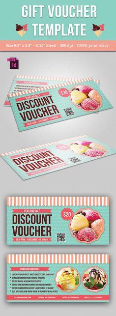 Gift Voucher Template PSD #design Download: http://graphicriver.net/item/gift-voucher/13622476?ref=ksioks