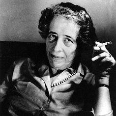 Die politische Philosophin Hannah Arendt im Jahr 1969