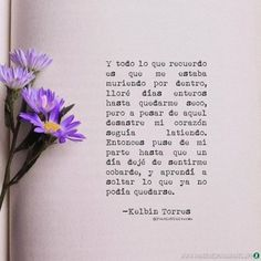 Book Quotes, Life Quotes, Quotes En Espanol, Love Phrases, Frases Tumblr, Perfection Quotes, Inspirational Books, Spanish Quotes, Wallpaper Quotes