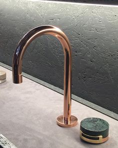 It's all in the details. Loving the new bath fixture line from @thewatermarkcollection  #twcelements