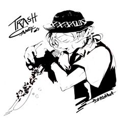 Nakahara Chuuya - From GRANRODEO's「TRASH CANDY」CD album (Anime Edition) (Cleaned by nkaharas)