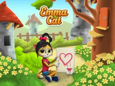 Well, this little creature is quite something! Just look at those lovely eyes! ^_^ Emma the Cat is out on Google Play Store. ;) https://play.google.com/store/apps/details?id=com.mycatemma.virtualpet&hl=en