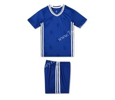 Cheap soccer jersey from topjersey 2016/17 Chelsea Home Blue Kid/Youth Soccer Uniform Without Logo-Kid Uniform Without Logo| topjersey