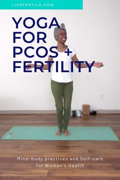 Trying to conceive? Have PCOS? Yoga can help balance your hormones, encourage blood flow to your reproductive organs, and increase your chance of conceiving. Visit the link for women's health, fertility, and PCOS yoga videos and guides. Hormon Yoga, Vinyasa Yoga, Pilates, Health And Fitness Articles, Health Fitness, Women's Health, Health Benefits, Yoga Videos, Workout Videos