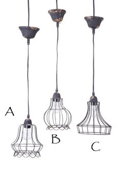 "#B Industrial Farmhouse Pendant Egg Basket Style 11 1/4"" tall, 6 foot cord, includes adjustable ceiling  canopy, $34.95"