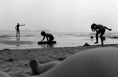 Bascuas 1994.   Santy López    Playa de Bascuas. Pontevedra 1994