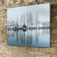 Winter Reflection Outdoor Art