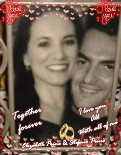 I LOVE YOU STEFANO <3 LOVE OF MY LIFE <3 CUORE MIO <3 MY HUSBAND <3 I LOVE YOU ALL WITH ALL OF ME <3 I LOVE YOU A LOT <3 WITH LOTS OF LOVE <3 TI AMO TANTO <3 TANTO <3 TANTO <3  OUR LIVES TOGETHER FOREVER WITH LOVE <3 TUA ELIZABETH PRINO <3 YOUR WIFE <3  LOVE <3 LOVE <3 LOVE <3 LOVE <3 <3 <3 <3 <3 <3
