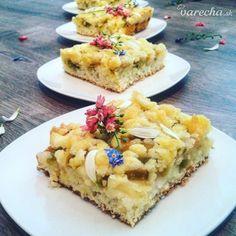 Svieži rebarborový koláč s jogurtom - Recepty - Varecha.sk
