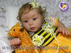 Reborn Doll Ana Clara 3 by Pedacinho de Gente