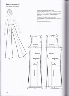 La tecnica dei modelli uomo donna 1 – Expolore the best and the special ideas about Designer clothing Dress Sewing Patterns, Sewing Patterns Free, Clothing Patterns, Pattern Drafting Tutorials, Free Sewing, Fashion Sewing, Diy Fashion, Ideias Fashion, Fashion Ideas