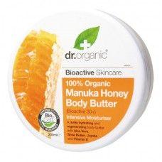 Show details for Dr Organic Manuka Honey Body Butter Organic Face Products, Organic Skin Care, Health Products, Body Butter, Shea Butter, Organic Manuka Honey, Natural Cosmetics, Moisturiser, Jojoba Oil