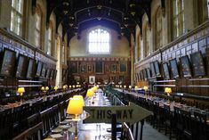 If you ever find yourself in Oxford, England in search of a bed for the night, you might consider booking a room at the student dorm accommodation ofChrist Church College, University of Oxford for areal-life Harry Potter experience. The university not only provides accommodation over the summer mo