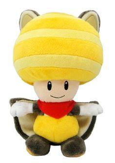 Super Mario Plush Series Plush Doll: 8-Inch Squirrel / Musasabi Yellow Toad / Kinopio - http://www.psbeyond.com/view/super-mario-plush-series-plush-doll-8-inch-squirrel-musasabi-yellow-toad-kinopio - http://ecx.images-amazon.com/images/I/41T73wnIwPL.jpg