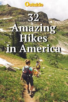 The Best 32 Hiking Trails in America #hiking #hikes #traveltips #outdoors #america Photo by Holly Mandarich on Unsplash