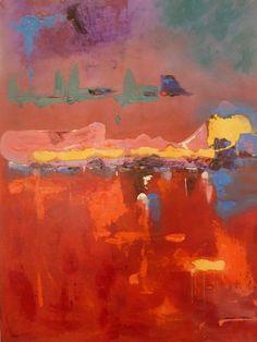 SUNSET I Art For Sale, My Arts, Sunset, Painting, Painting Art, Paintings, Sunsets, Painted Canvas, The Sunset