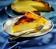 Recipe of the Parisian house flan Greek Sweets, Greek Desserts, Greek Recipes, Desert Recipes, My Recipes, Gourmet Recipes, Cypriot Food, Low Calorie Cake, Easy Sweets