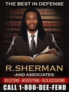 Richard Sherman. Seattle Seahawks