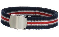 Navy Blue and White Belt Red Belt, White Belt, Navy Blue, Blue And White, Canvas, Accessories, Fashion, Tela, Moda