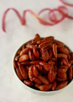 honey roasted spiced nuts via @Season with Spice - Gotta make these!