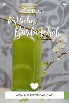Geschenke aus der Küche - Bärlauchöl - ein Frühlingsgruß in die Küche