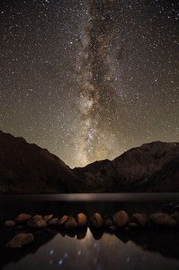 Milky Way over Convict Lake By B.A.Y Photography