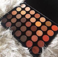 Bundle of Eyeshadows Dark Brown Glittery Shimmery Fall Colors
