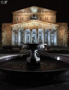 The Bolshoi Theater, Moscow, after the renovation.