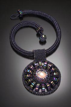 Sunburst Pendant - Bead&Button Show