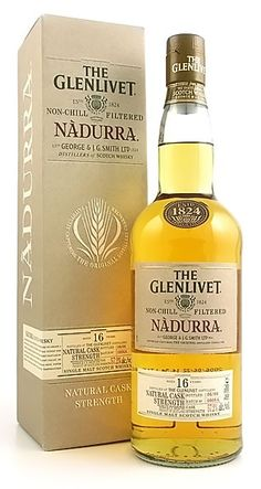 The Glenlivet Nadurra 16 Year  I was a good girl and Santa put this in my stocking last year!
