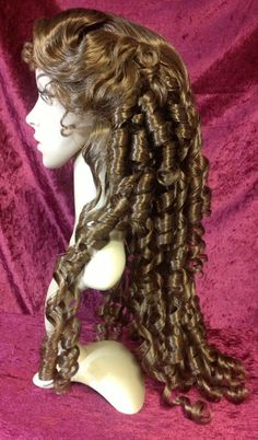Christine Daae' Wig Phantom of the Opera by TimeAfterTimeDesigns