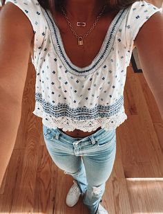Cute Preppy Outfits, Adrette Outfits, Cute Summer Outfits, College Outfits, Outfits For Teens, Spring Outfits, Trendy Outfits, Fashion Outfits, Teenager Outfits
