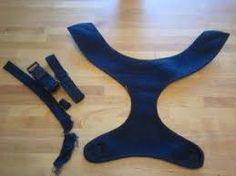 Resultado de imagem para how to make dog harness pattern