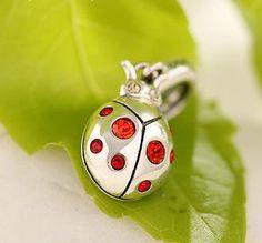 Little Ladybird ~  Exquisite design with Swarovski Crystal Elements crystaljewellerytrends.com