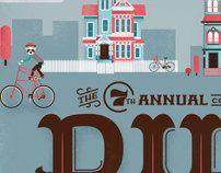 Duluth Bike Swap 2013 by Jacob Boie, via Behance
