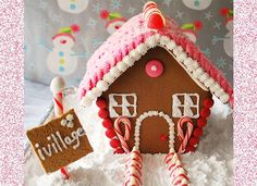 Gingerbread House Template And Recipe
