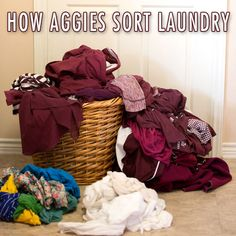 Ha! True story, Ags! Be sure to wash all of your maroon gear for #CollegeColors Day on Aug. 29! We Ags are going to add an extra day and maroon out Aug. 28 (the first game day), as well, so #12thMan, get that laundry sorted!