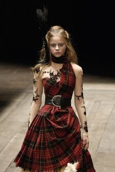 Celtic Queen - I am a Warrior Queen, wrapped in tartan and surrounded by my clan!  from the Duchess of Virago