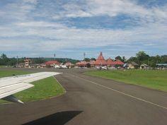 Rendani Airport, West Papua province. It is an airport in Manokwari, West Papua Indonesia (Irian Jaya )