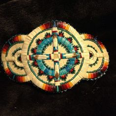 gorgeous quilled barrette