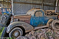 1935 Chevrolet Master Deluxe Coupe ute . A very rare find.