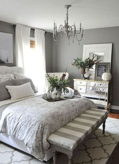Awesome 35 Farmhouse Master Bedroom Decorating Ideas https://crowdecor.com/35-farmhouse-master-bedroom-decorating-ideas/