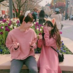 Image about love in ulzzang couple by tropical_a Couple Ulzzang, Ulzzang Korean Girl, Cute Korean Girl, Matching Couple Outfits, Matching Couples, Cute Relationship Goals, Cute Relationships, Poses, Bff