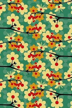 "I love this.  The colors, the pattern...this would be so great as an accent in that ""geisha"" inspired bath/dressing room I had in mind."