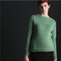 Ribbed-Waist Pullover by Angela Hahn - Елена А - Веб-альбомы Picasa