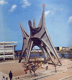 Stabile «L'Homme» d'Alexander Calder, 1967 site Expo 67