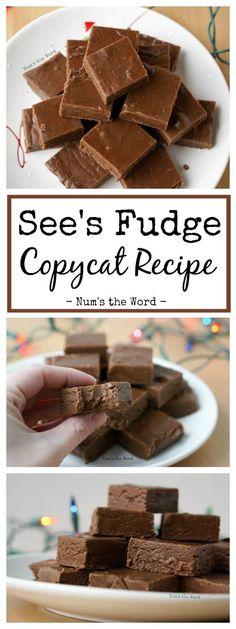 See's Fudge, A Copycat Recipe